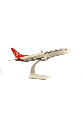 Tk Collection B737 800 1/100 Plastik Model Uçak