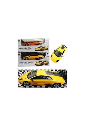Om Sarı Renk Lüks Model Şarjlı G2018 Rc Araba