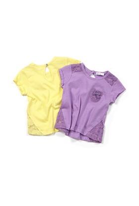 Zeyland Kız Çocuk Lila T-Shirt - K-61M2LIU52