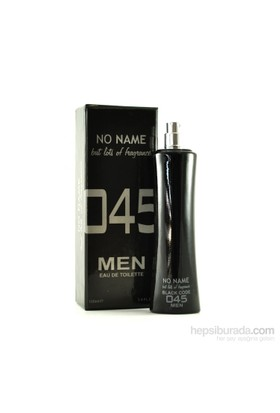 No Name 045 Black Code Edt 100 Ml Erkek Parfüm