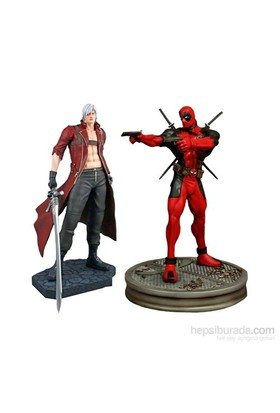 Marvel Vs. Capcom: Dante Vs. Deadpool 1:4 Scale