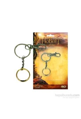 The Hobbit One Ring Snap Keychain Yüzük Anahtarlık
