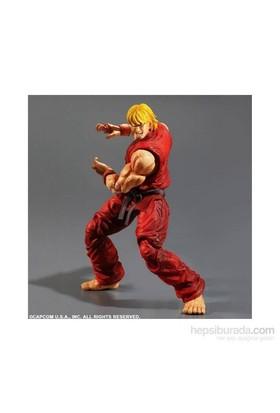 Super Street Fighter Ken Play Arts Kai Figür