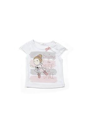 Zeyland Kız Çocuk Beyaz T-Shirt - K-61M2LJR51