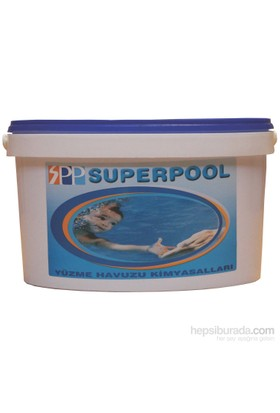 Superpool %90 200 Gr Tablet Klor (Tri-Klor) 5 Kg