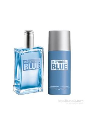 Avon Individual Blue Edt + Deodorant İkili Set