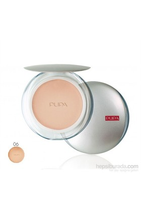 Pupa Silk Touch Compact Pudra- Sand Pearl
