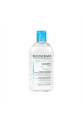 Bioderma Hydrabio H2O 500ml - Nemsiz Ciltler İçin Nemlendirici ve Temizleyici Misel Solüsyon