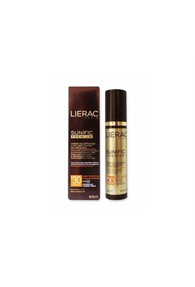 Lierac Sunific Premium Voluptuous Cream SPF30 50ml - Anti Age Etkili Güneş Koruyucu Krem