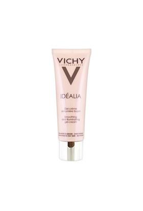 Vichy Idealia Smoothing and Illuminating Gel Cream 50ml - Karma ve Yağlı Ciltler İçin Işıltı Veren Bakım Kremi