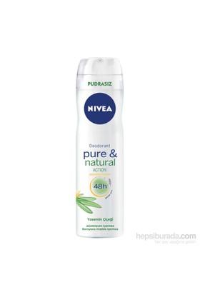 Nivea Pure & Natural Sprey 150Ml Kadın