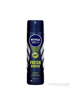 Nivea Fresh Power Sprey 150Ml Erkek