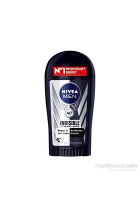 Nivea Invısıble Black&Whıte Power Stıck 40Ml Erkek