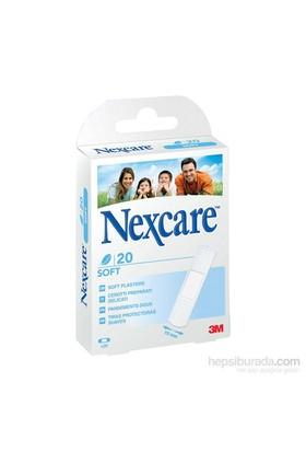Nexcare Soft Yara Bandı 19*72 mm 20'li (Yumuşak & Hassas Yara Bandı)