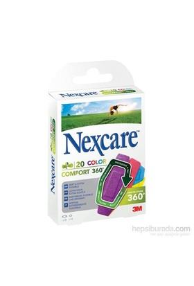 Nexcare Comfort Renkli 360 20li Karışık Yara Bandı