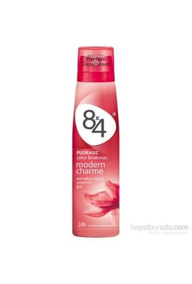 8X4 Modern Charme Sprey 150Ml Kadın
