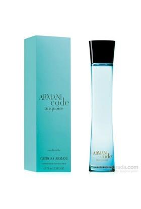 Giorgio Armani Code Turquoise Eau Fraiche Edt 75 Ml Kadın Parfüm