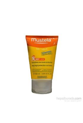 MUSTELA Lait Solaire 50+ 100 ml SPF 50+ Koruma Faktörlü Güneş Sütü