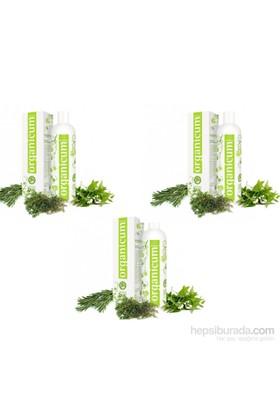 Organicum Yağlı Saçlar İçin Şampuan 350Ml 3 Adet