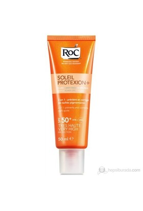 Roc Soleil Protection Fluid Anti Brown Spots Spf 50 50 Ml
