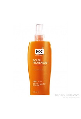 Roc Soleil Protexion + Spf 50 Velvet Moisture 200 Ml