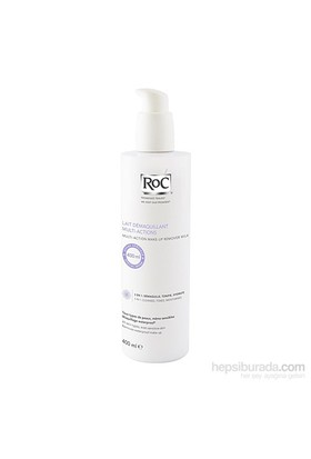 Roc Lait Demaquillant Multi-Acttions 400 Ml -3'Ü 1 Arada