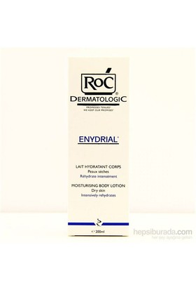 Roc Dermatologic Enydrial Lait Hydratant Corps 200 Ml
