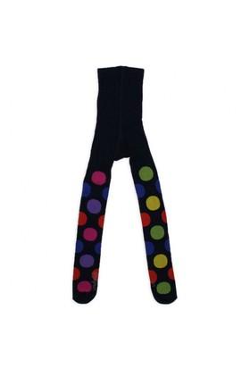 Modakids Wonder Kids Kız Çocuk Renkli Puanlı Külotlu Çorap 010-5008-012