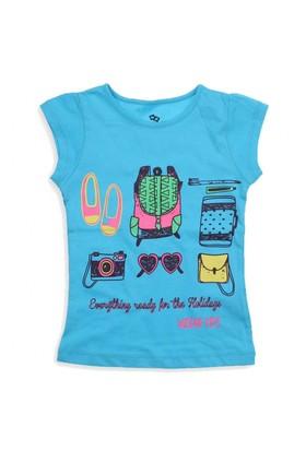 Modakids Wonder Kids Kız Çocuk Kısa Kol T-Shirt 010-3102-037
