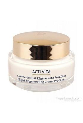 Monteil Acti-Vita ProcGen Night Regenerating Creme 50 Ml