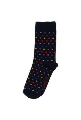 Modakids Wonder Kids Kız Çocuk Renkli Puanlı Soket Çorap 010-5002-012