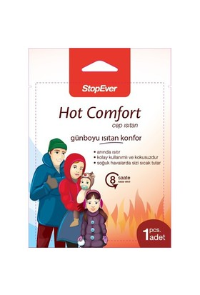 StopEver Hot Comfort Cep Isıtan Ped