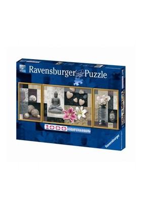 Ravensburger Huzur Ve Uyum (1000 Parça, Üçlü Puzzle)
