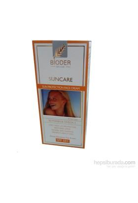 Bioder Güneş Koruyucu Yüz Kremi SPF 50+ 50 ml