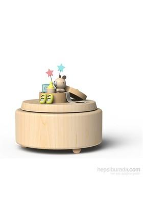Wooderful Life Hediye Paketinde Ayıcık Müzik Kutusu