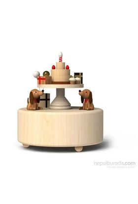Wooderful Life Doğumgünü Pastası Müzik Kutusu