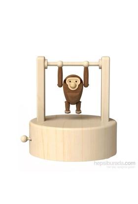 Wooderful Life Taklacı Şempanze Müzik Kutusu