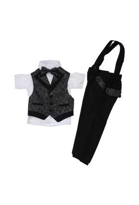 Modakids Erkek Çocuk Kısa Kol Smokin Takım Elbise 037-199401-038