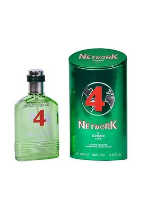 Lomani Network 4 (Green) Edt 100 Ml