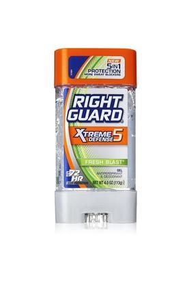 Right Guard Xtreme Defense 5 Fresh Blast Gel 113 Gr