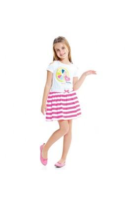 Modakids Wonder Kids Kız Çocuk Neon Çizgili Etek 010-1507-022
