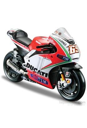 Maisto 1:18 Ducati Nicky Hayden 2012 Model Motorsiklet