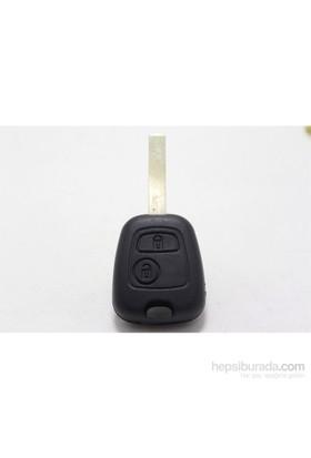 Gsk Peugeot 307 Anahtar Kabı 2 Tuşlu 2000- 2005 Yılları Uyumlu