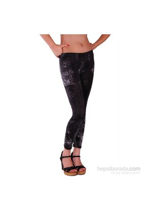 Redhotbest Black Rose Micro Fashion Tight - Desenli Tayt