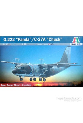 "G222 ""Panda/C-27 A Chuck (1/72 Ölçek)"
