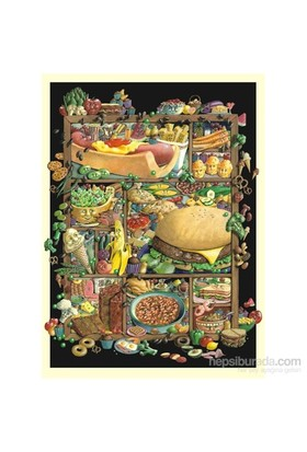 Anatolian Ne Yesek / Shadowbox Hunt-Food - 1000 Parça Puzzle