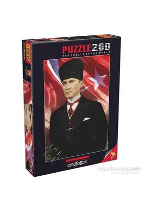 Anatolian Mustafa Kemal Atatürk - 260 Parça Puzzle
