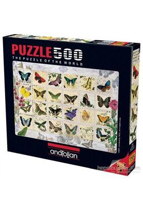 Anatolian Kelebekler - 500 Parça Puzzle