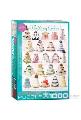 Eurographics Puzzle 1000 Parça Düğün Pastaları
