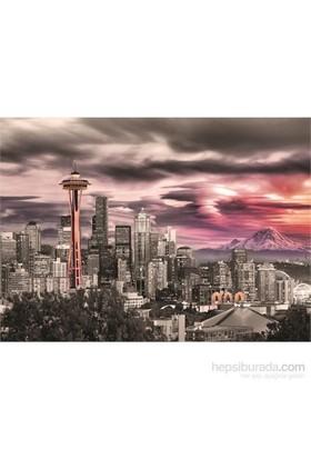 Eurographics Seattle City Skyline 1000 Parça Puzzle